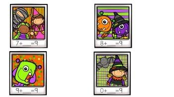 Missing Numbers Halloween