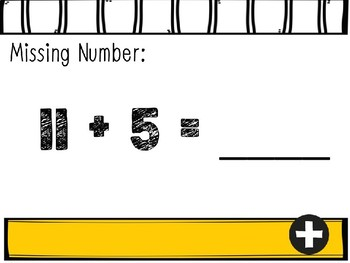 Missing Numbers Interactive Power Points: Numbers 10-20