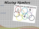 Missing Numbers Interactive Powerpoint