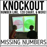 Missing Numbers KNOCKOUT {Number Line, 120 Chart, & Sequence}