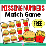 Missing Numbers Match Game (Equations, Patterns, Addition