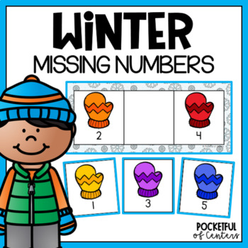 Missing Numbers {Mitten Theme}