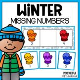 Missing Numbers {Mitten Theme} 1-20