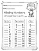 Missing Numbers - Morning Math Activities