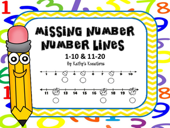 Missing Numbers Worksheets -Fall