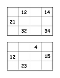 Missing Numbers Puzzles 1-50