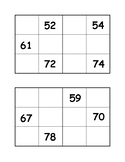 Missing Numbers Puzzles 51-120