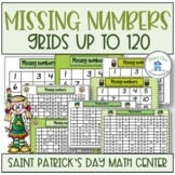Missing Numbers Saint Patrick's Day Theme