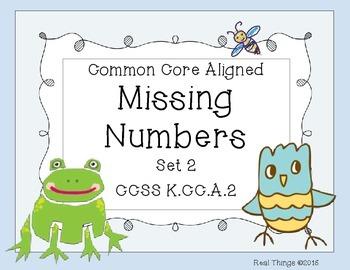 Missing Numbers: Set 2
