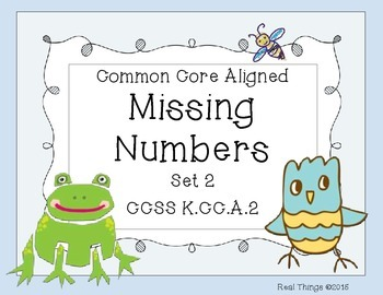 Missing Numbers: Set 2