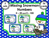 Missing Numbers  •  Snowman