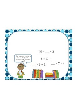 Missing Numbers: Subtraction