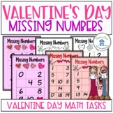 Missing Numbers Valentine's Day