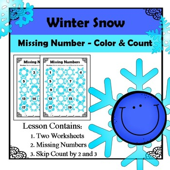 Missing Numbers - Winter