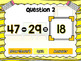 Missing Numbers in Equations Powerpoint Game