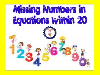 Missing Numbers in Equations within 20