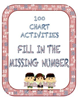 100 Charts: Missing Numbers