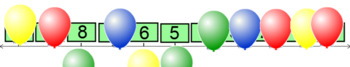 Missing Numbers on Number Line 0-20 BNWS Smartboard 16.2