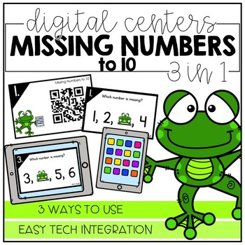 Missing Numbers to 10 - Digital Math Centers
