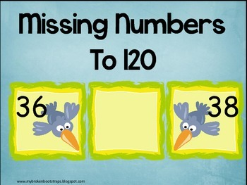 Missing Numbers to 120