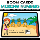 Missing Numbers  to 20 for Boom Cards™