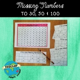 Missing Numbers (to 30, 50 & 100)