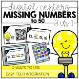 Missing Numbers to 50 - Digital Math Centers