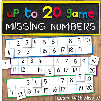 Missing Numbers up to 20