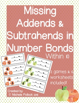 Missing Addends and Subtrahends