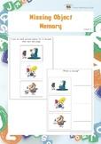 Missing Object Memory (Visual Memory Worksheets)