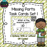Missing Part Task Cards: 1st Grade Common Core: Operations & Algebraic Thinking