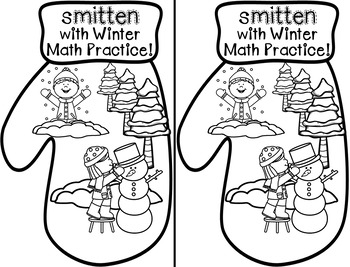 Missing Parts and Near Doubles Winter Break Math Practice