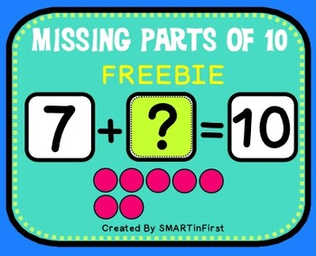 Missing Parts of 10 Freebie