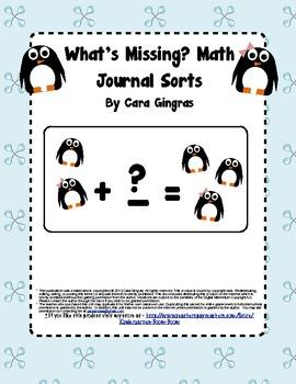 Missing Penguins Journal Sorts - Math