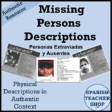 Physical Descriptions in Spanish