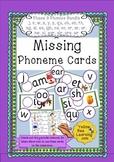 Missing Phoneme Cards - Phase 3 Bundle