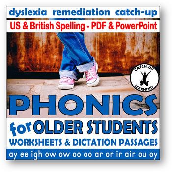 Phonics Older Children & Adults  Intervention Remediation & Assessment