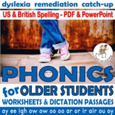 Phonics Assessment and Intervention Package for older students