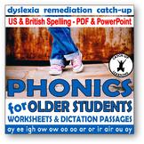 {dyslexia worksheets} {Phonics for older students} {DECODA