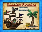 Missing Pirates!  Math Centers with Missing Addends, Diffe
