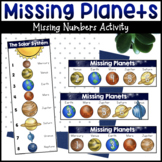 Missing Planets: Missing Numbers Activity