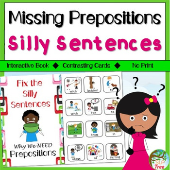 Missing Prepositions Silly Sentences