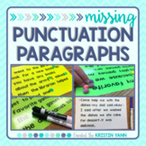 Missing Punctuation Paragraphs