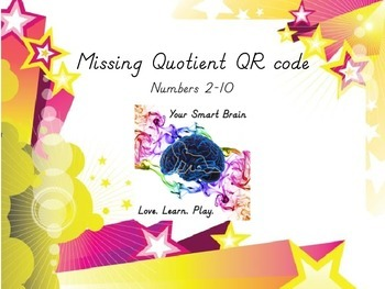Missing Quotient QR Code