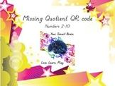 Missing Quotient QR Code (CCSS aligned)
