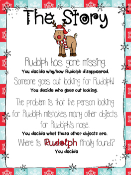 Missing Reindeer - A Christmas Creative Writing Project