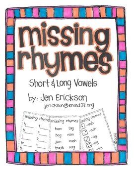 Missing Rhymes