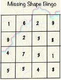 Missing Shape Bingo