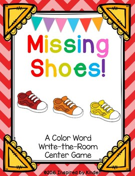 Color Word Write-the-Room