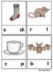 Missing Short Vowel Clip Cards